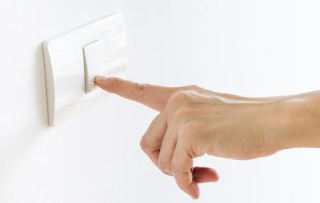Electrical Contractors & Electricians in Plymouth - Light Switch Installation