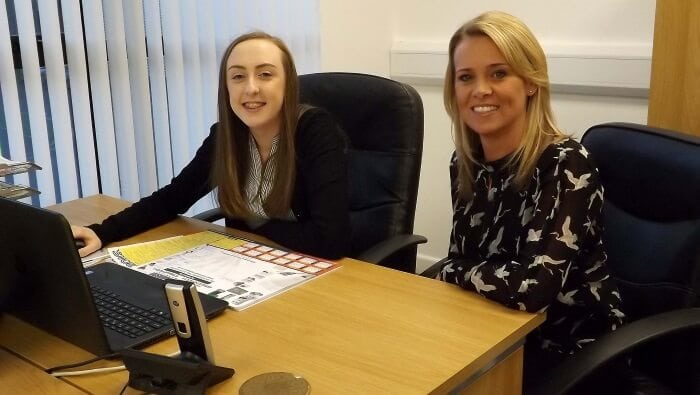 About Us Angie Hitchock and Holly of JAH Electrical Services Ltd Plymouth Devon