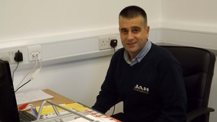 About Us Jamie Hitchock MD & Owner of JAH Electrical Services Ltd Plymouth Devon