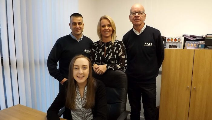 About Us Office Team at JAH Electrical Services Ltd Plymouth Devon
