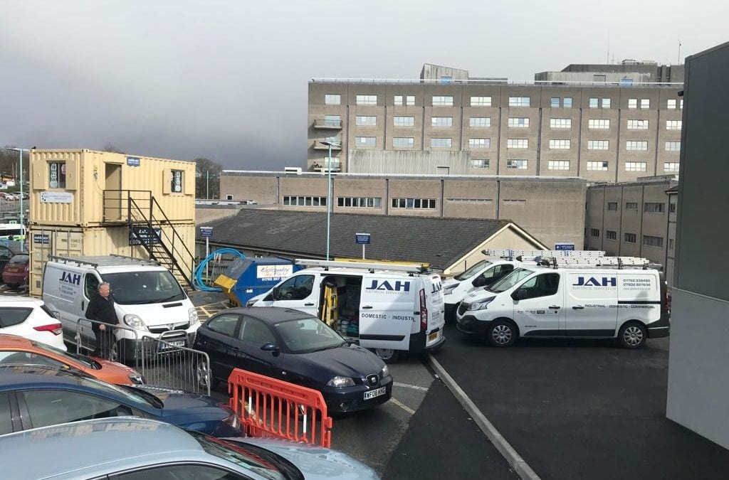 JAH Electrical Services Ltd NHS Project Work